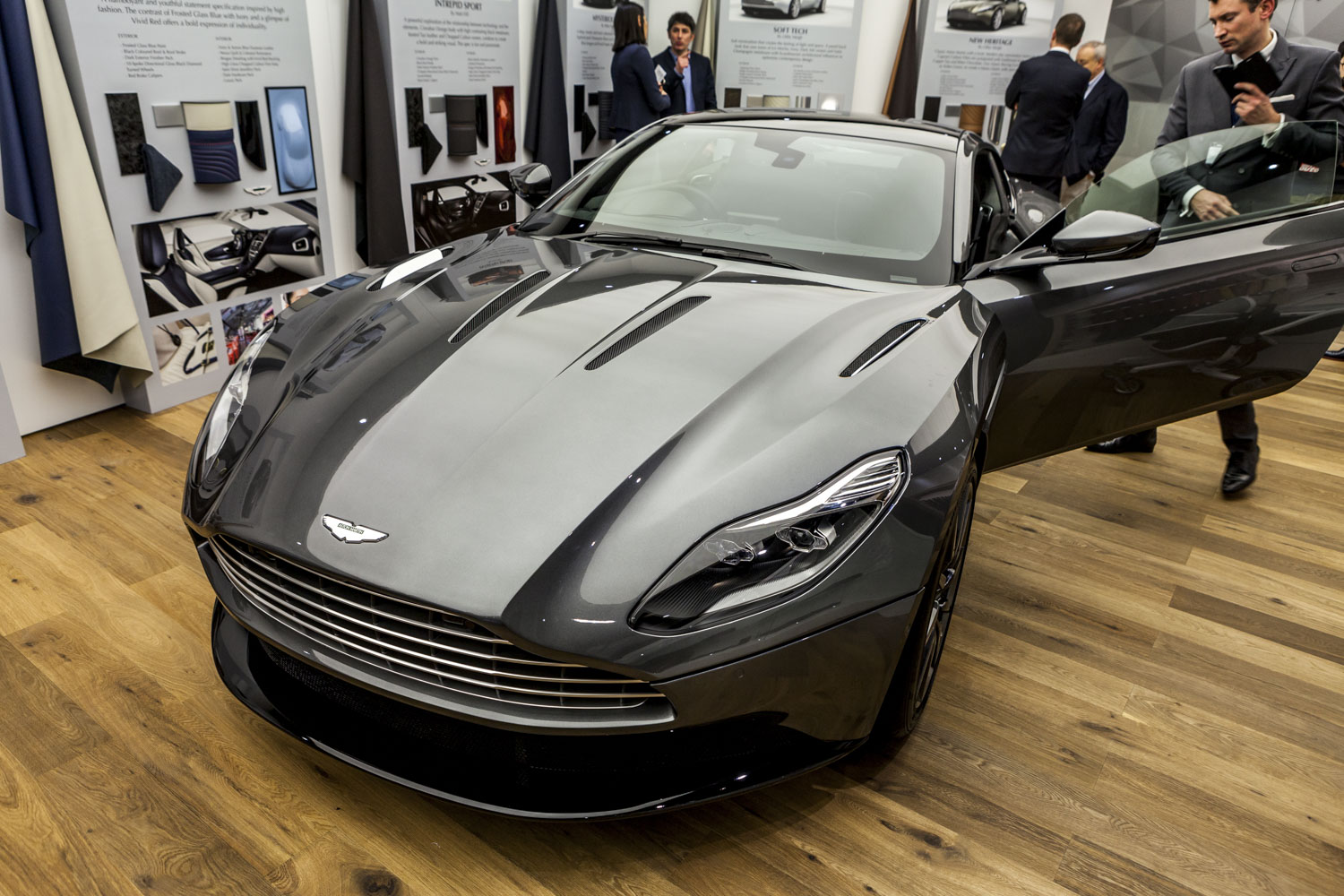 geneva 2016 aston martin db11. Black Bedroom Furniture Sets. Home Design Ideas