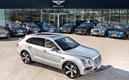 Bentley starts delivery of the Bentayga