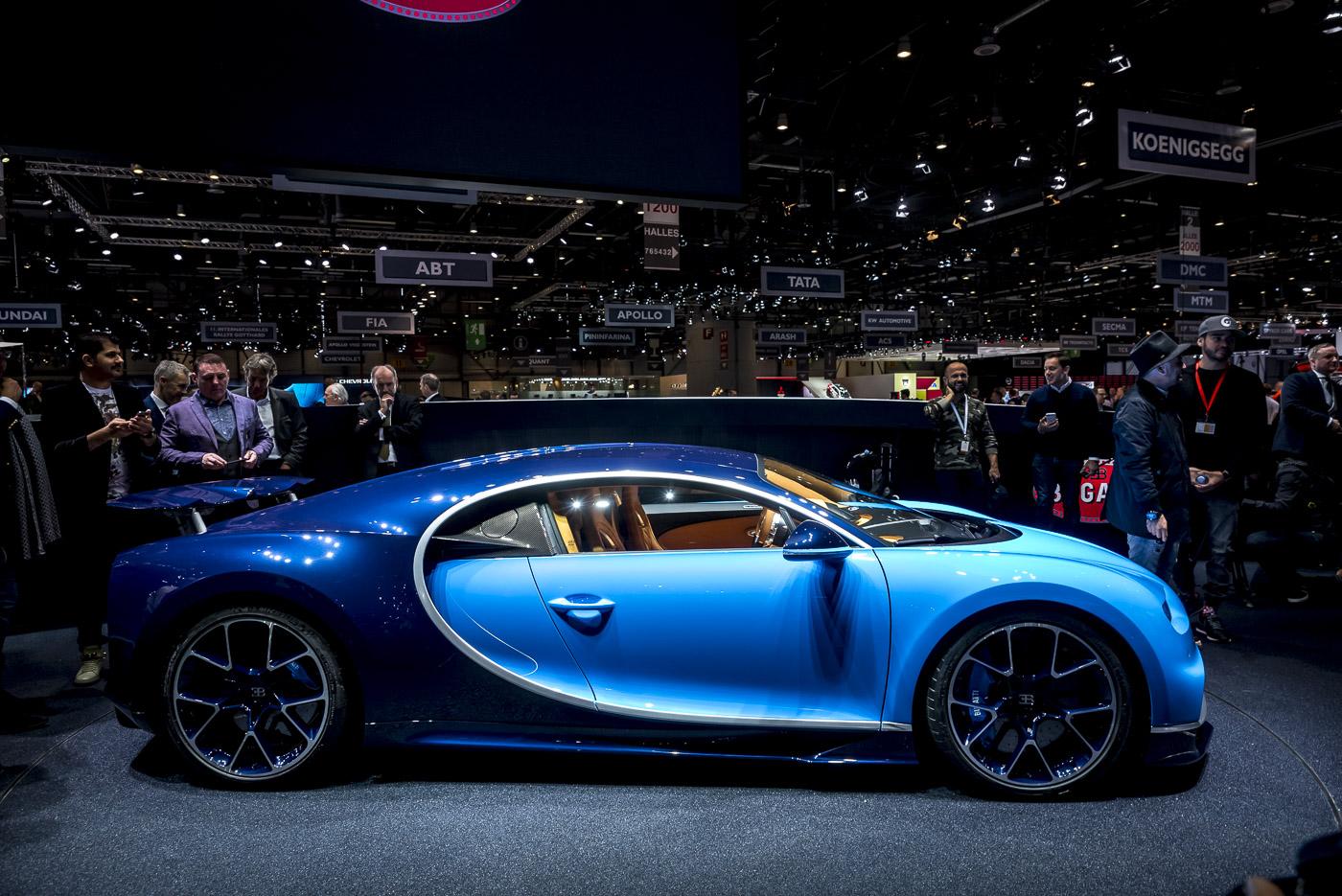 Geneva 2016 Bugatti Chiron