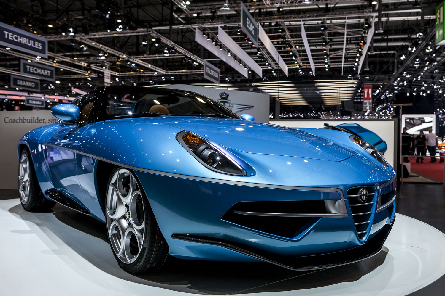 Alfa Disco Volante For Sale >> Geneva 2016: Carrozzeria Touring Disco Volante