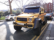 Stay gold: Mercedes-Benz G 63 AMG 6x6