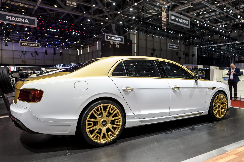Geneva 2016 Mansory Bentley Flying Spur