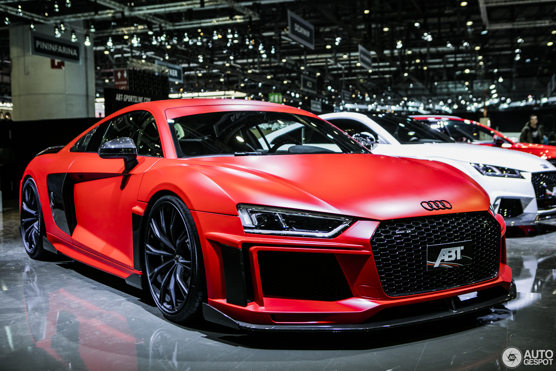 Geneva 2017 Abt Audi R8