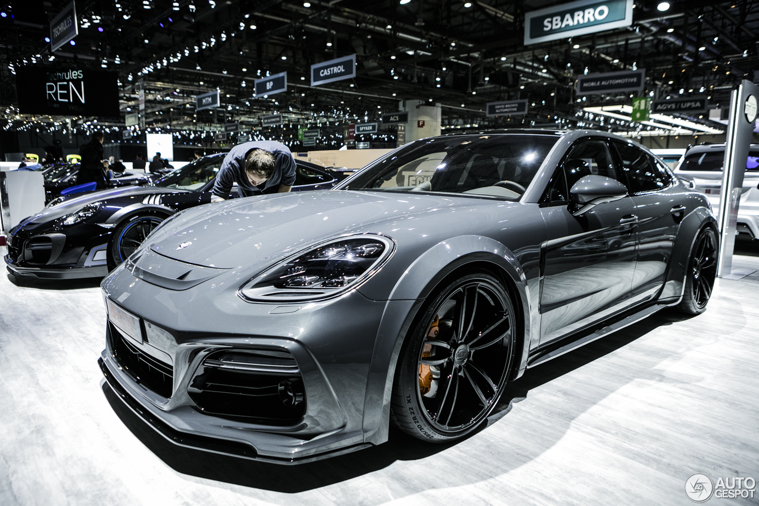 Geneva 2017 Porsche Panamera Techart Grand Gt