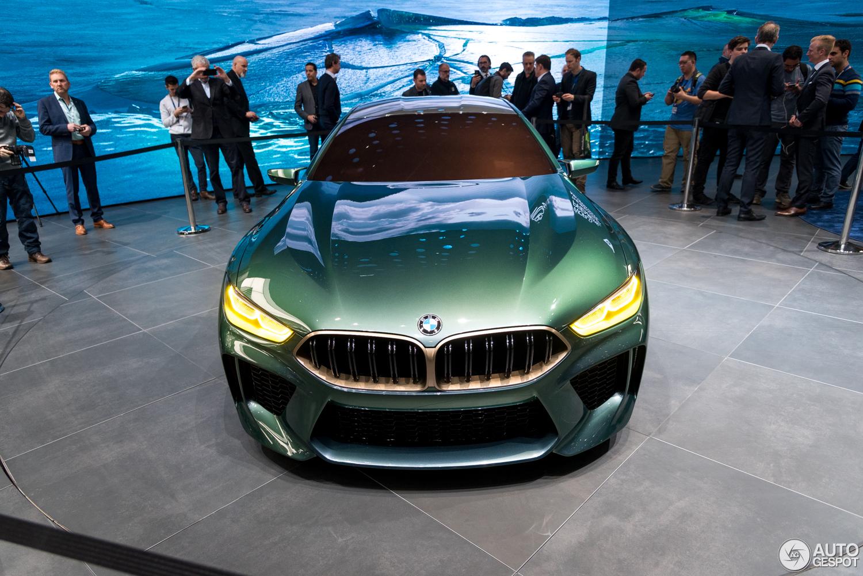 Geneva 2018: BMW M8 Gran Coupé Concept
