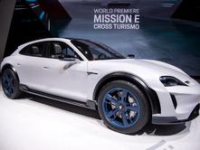 Genève 2018: Porsche Mission-E Cross NAAM NAKIJKEN