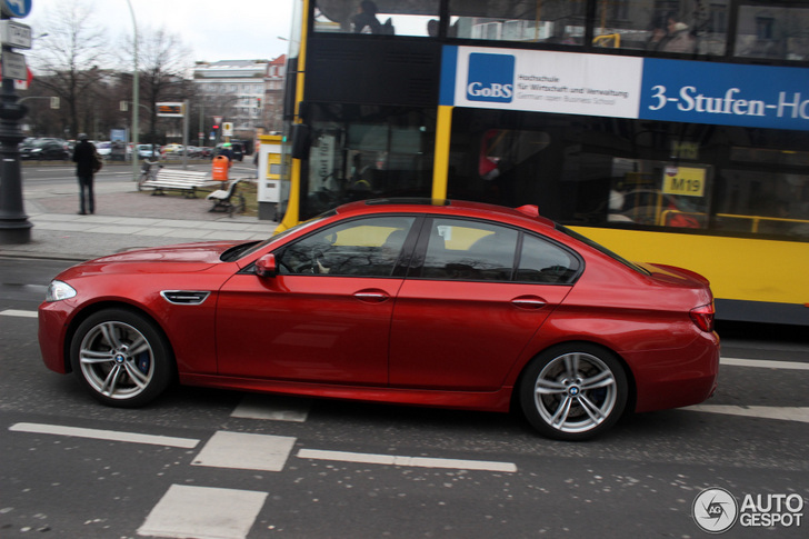 Very Rare In Red Bmw M5 F10