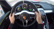 Video: un giro con la Porsche 918 Spyder