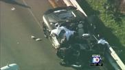 Trágico accidente con un Lamborghini Aventador LP700-4 en Miami