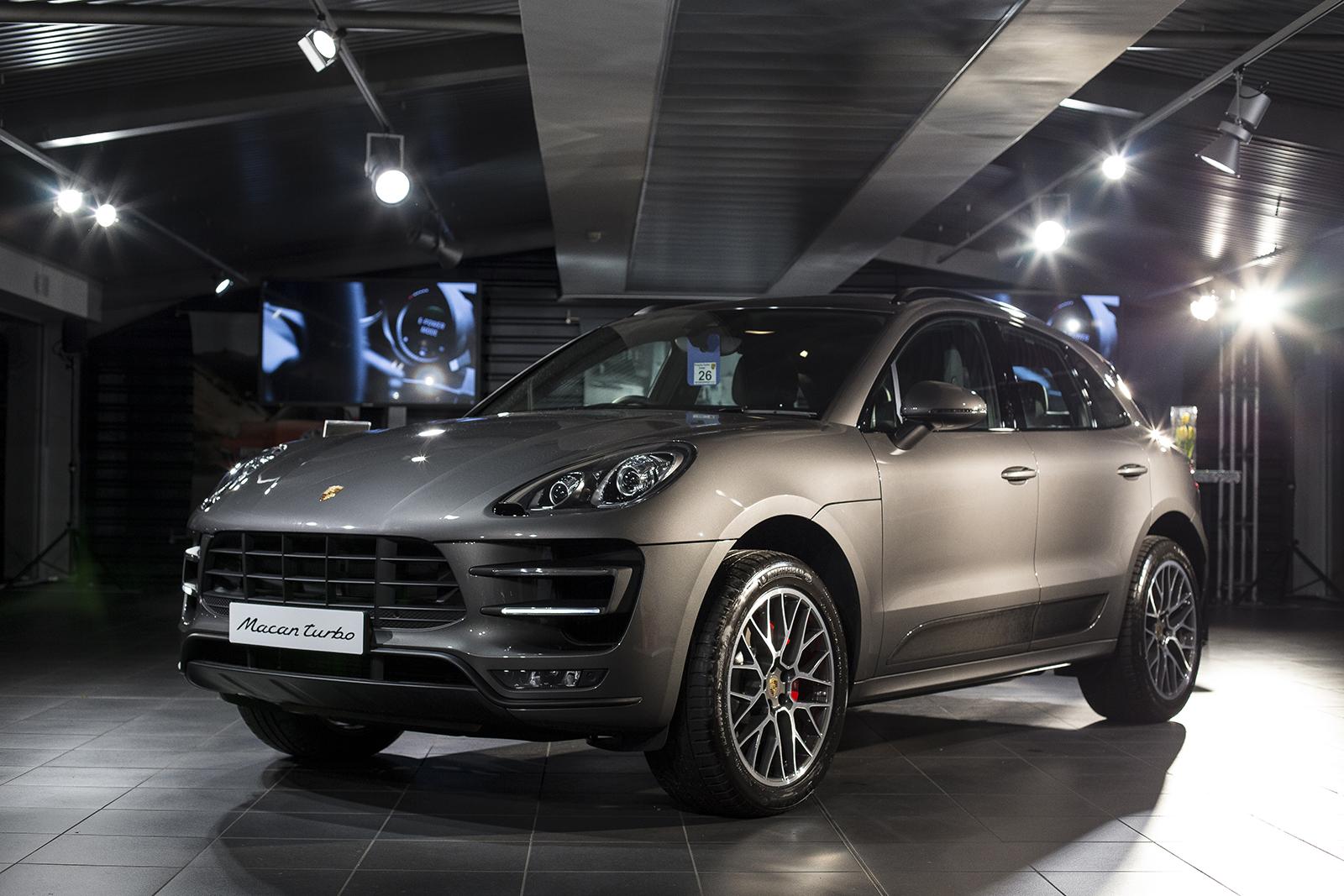 Fotoverslag Introductie Porsche Macan In Exeter