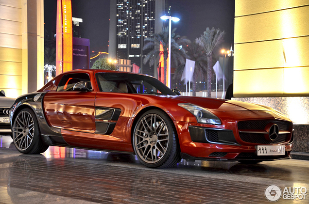 Does the Brabus bodykit make the SLS AMG look better?