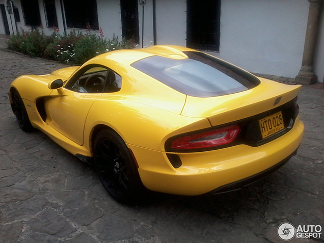 Spotted in Colombia: SRT Viper GTS 2013