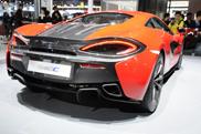 Shanghai Motor Show 2015: McLaren 540C
