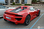 Would you choose red for your 918 Spyder?