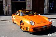 Volgende Porsche 959 uit een unieke collectie vastgelegd