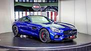 Al-Ain Class Motors receives a beautiful AMG GT
