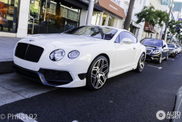 Eerste Bentley Continental Vorsteiner BR10-RS in Amerika is dik