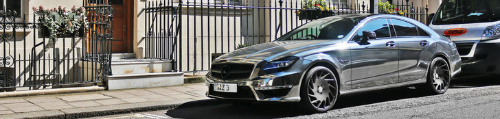 Mercedes-Benz CLS 63 AMG mal anders
