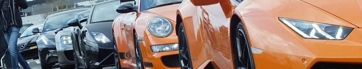 Supercarmeeting pour la première de Fast & Furious 7