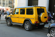 Mercedes G-Class Crazy Color shows off on the streets