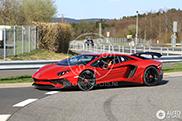 Lamborghini Aventador SuperVeloce spotted on the Nürburgring