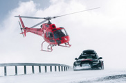 Movie: Jon Olsson racing through snow