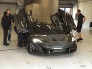 McLaren P1 fährt Testrunden in Spa-Francorchamps