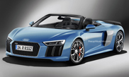 Rendering: this is what the Audi R8 V10 Plus Spyder will look like