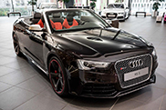 Audi Exclusieve built this beautiful RS5 Cabriolet