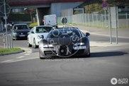 Testwagen des neuen Supersportwagen von Bugatti am Ring gesichtet