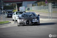 Mule for Bugatti's new supercar visits the Nürburgring