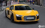 Snelle banaan: Audi R8 V10 Plus