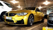 BMW M3 F80 in a beautiful configuration
