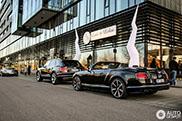 Heerlijk Bentley duo vastgelegd in Duitsland