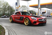 Very wide: Mercedes-AMG GT S by Prior Design
