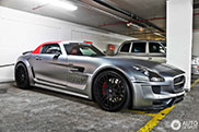 Mercedes-Benz Hamann Hawk SLS AMG Roadster looks really aggressive