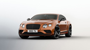 Bentley shows new Continental GT Speed
