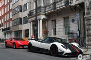 Pagani Zonda Cinque Roadster doet alweer Londen aan