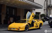 Lamborghini Diablo SV laat zien dat Londen ook stijlvol kan zijn