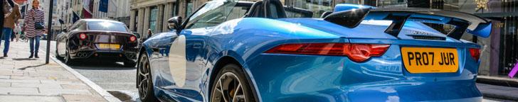 Het absolute zomerspeeltje: Jaguar F-TYPE Project 7