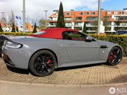 Aston Martin V12 Vantage S Roadster is één bonk elegantie