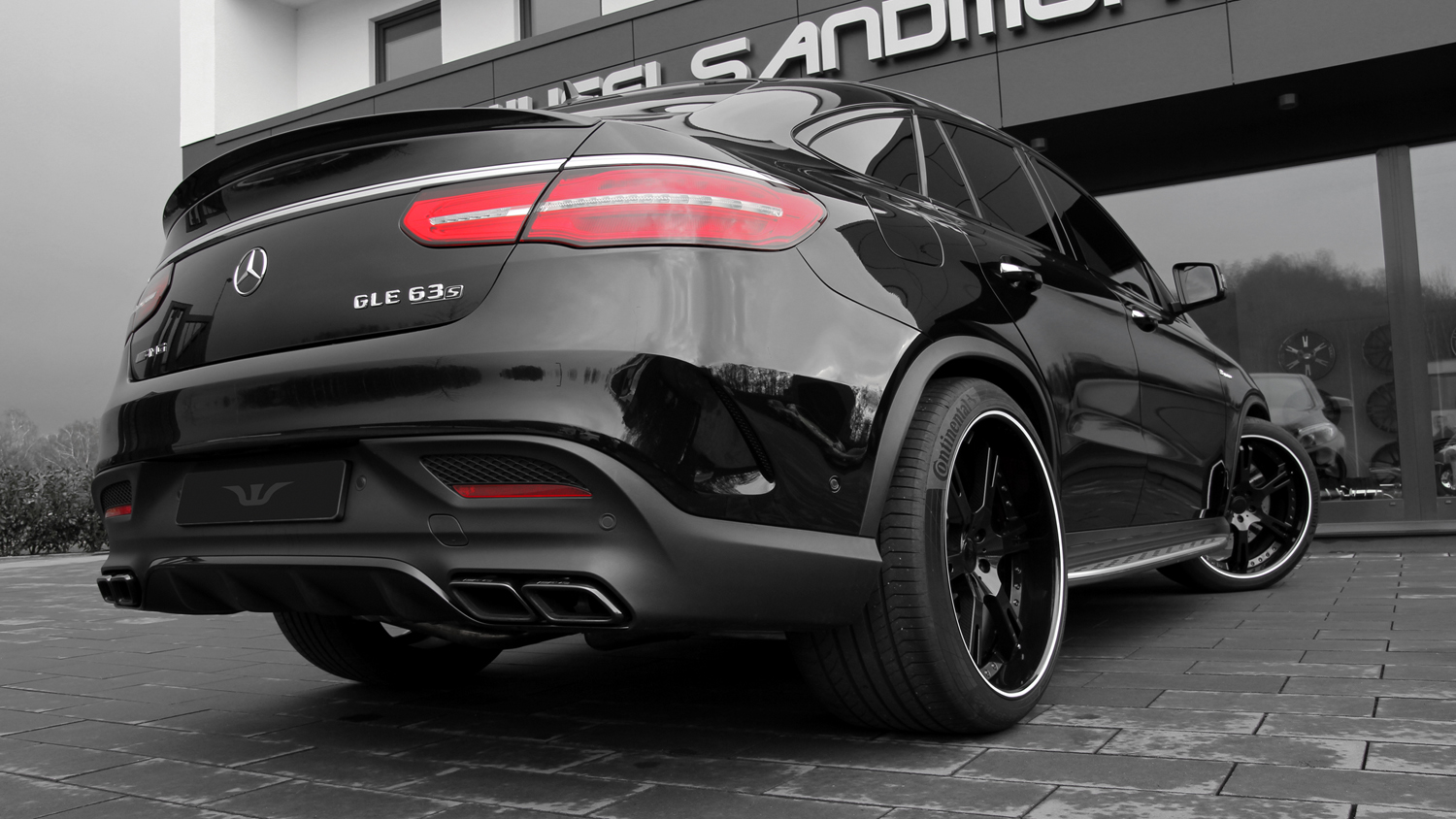 mercedes amg gle 63 coupe by wheelsandmore. Black Bedroom Furniture Sets. Home Design Ideas