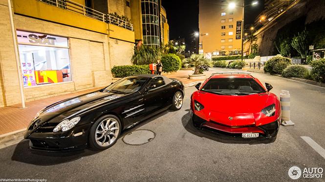 Prachtige combo Monaco in holst van de nacht