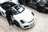 Aston Martin Vanquish Zagato at Topaz Detailing