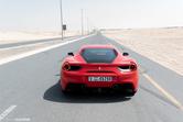 Special: met de Ferrari 488 GTB door Dubai