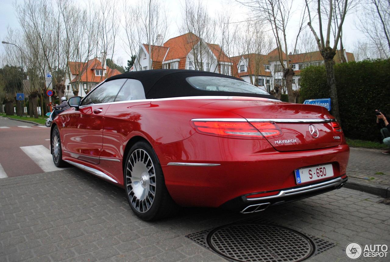 Prachtig: Mercedes-Maybach S 650 Cabriolet