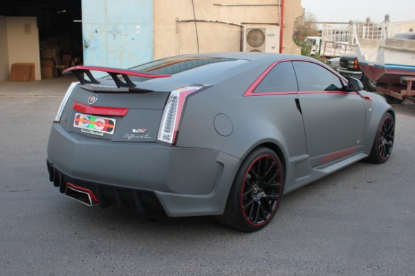 Tough Cadillac Cts V Coup 233 Thanks To Differently Kit