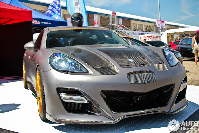 Sport Auto High Performance Days 2012: Panamera door No ...