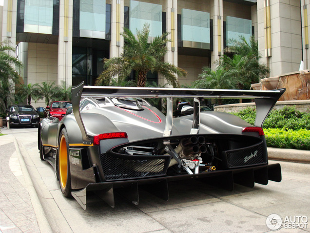 Crazy Pagani Zonda R On The Streets