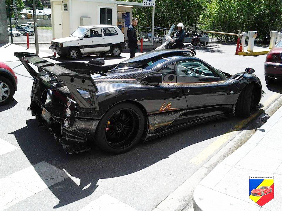 Pagani Zonda 760 Lm Is Finished And Can Be Found In Andorra